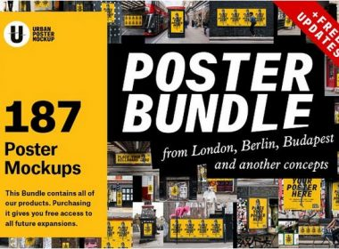 Urban Poster Mockup Bundle