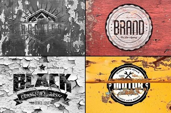 Vintage Logo Mockup