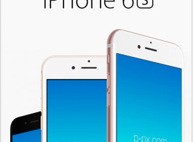 Apple's iPhone 6S Angled Front View