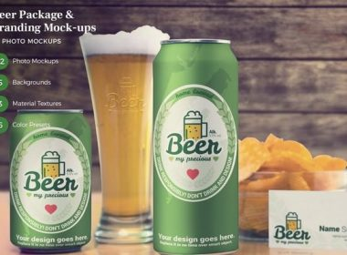 Beer Package Mock-ups