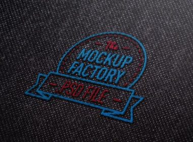 100 Free Embroidered Logo Mockup Creativebooster Free Embroidery