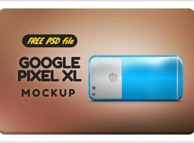 Free Google Pixel XL Mockup