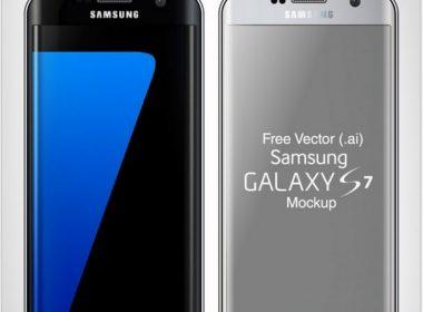 Free Samsung Galaxy S7 & S7 Edge Mock-up