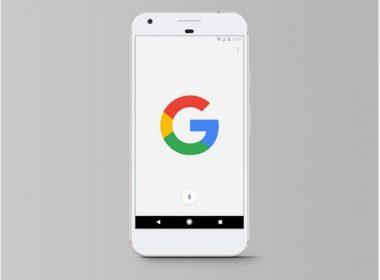 Free Smartphone Google Pixel Mockup