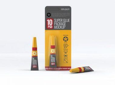 Glue Packaging Mock-Up