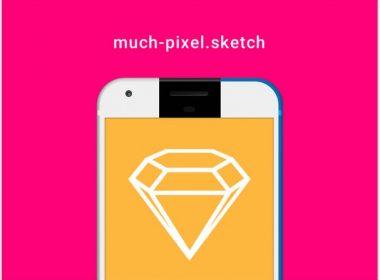 Great Free Pixel Smartphone Mockup