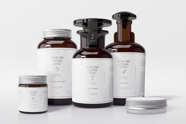 Natural Cosmetic Packaging