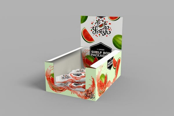Retail Box Packaging MockUp