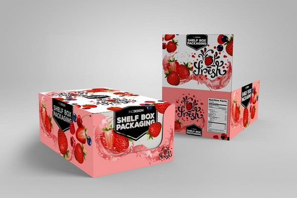 Shelf Box MockUp