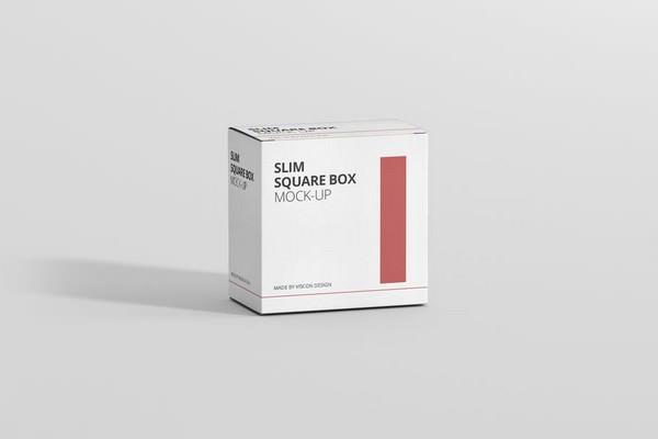 Slim Square Box