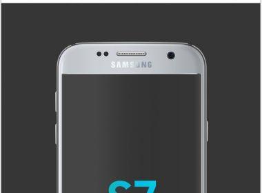Smartphone Galaxy S7 PSD MockUp