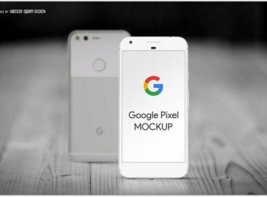 Smartphone Google Pixel Mockup