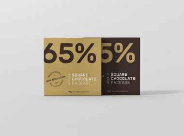 Square Chocolate Packaging