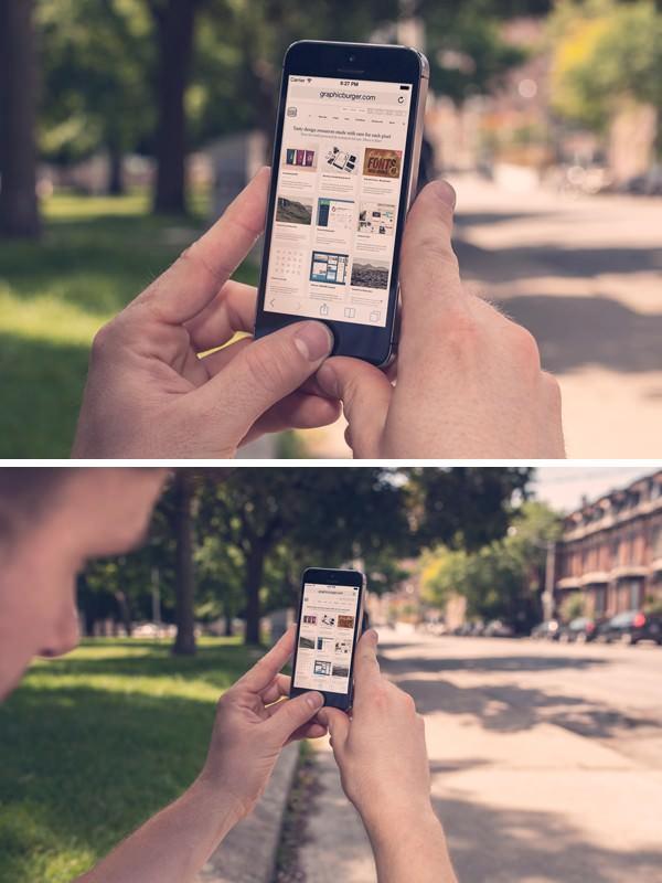 iPhone 5S Street