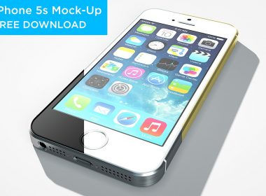 iPhone 5s Mock-Up Free