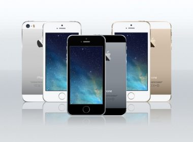 iPhone 5s Vector Mockup