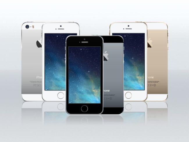 iPhone 5s VectorMockup