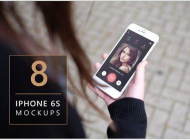 iPhone 6s Photorealistic Mockup