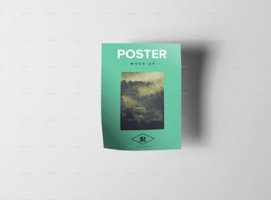 A4 Poster Mock-Up