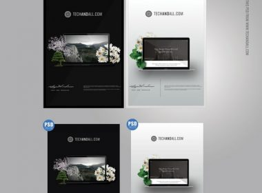 Hang A4 Poster MockUp, Frame, PSD Template- 5000 x 5000
