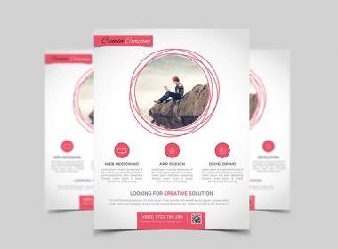 App Design Agency Poster