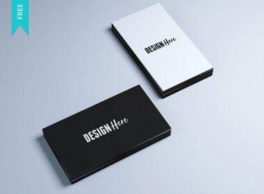 Business Card Mockups - Free PSD Mockup