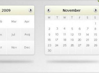 Calendar mockup Free Psd