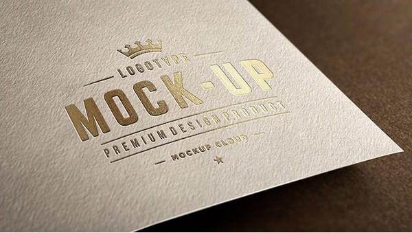 Close-Up Logo Mockups