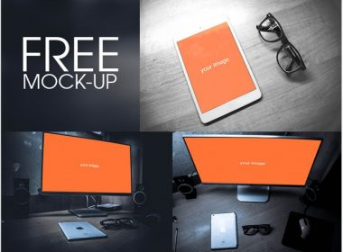 Desktop Ipad Mockup