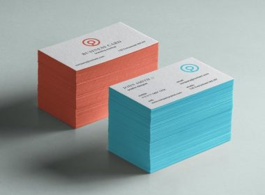 Free Business Card Mockup Psd # 2