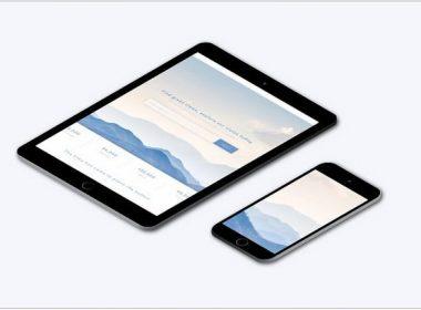 Isometric Apple mock-ups