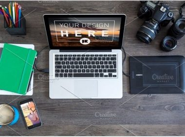 MacBook Pro and iPhone 6 - MOCKUP