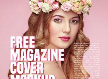 Magazine Cover Mockup +design