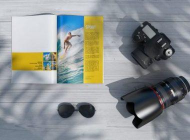 Magazine PSD Mockups Vol-2