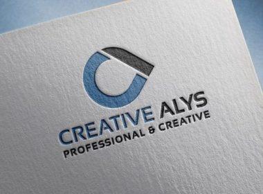 Paper Pressed PSD Logo Mockup