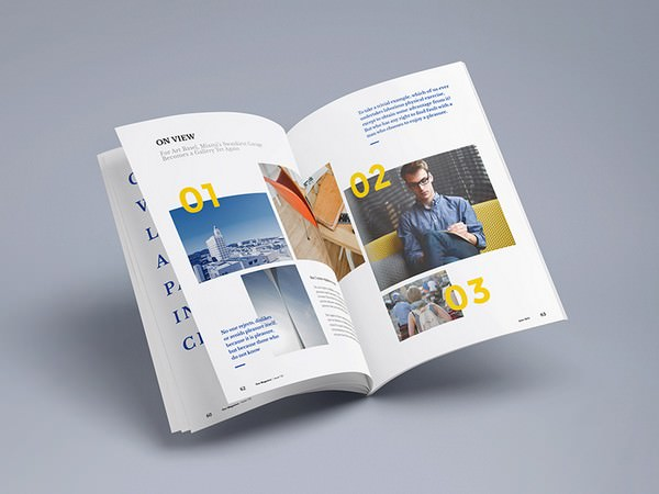 Photorealistic Magazine PSD Mock-up