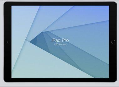 iPad Pro Mockup (Psd)