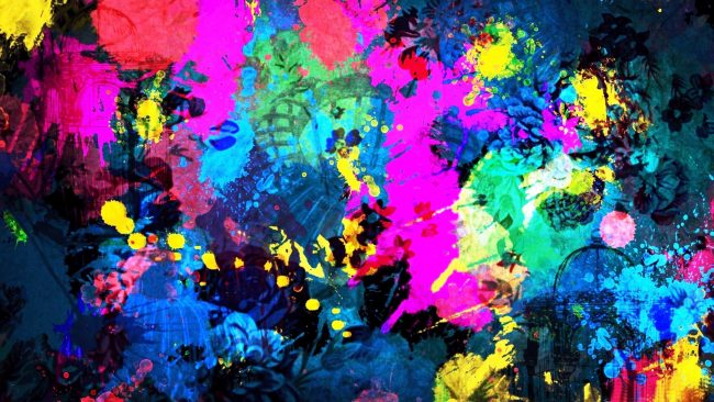 3840 × 2160 abstract Colorful 4K