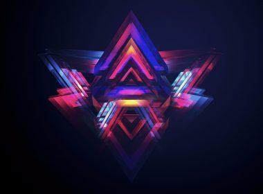 3840 × 2160 Stunning Pyramid abstract 4K HD