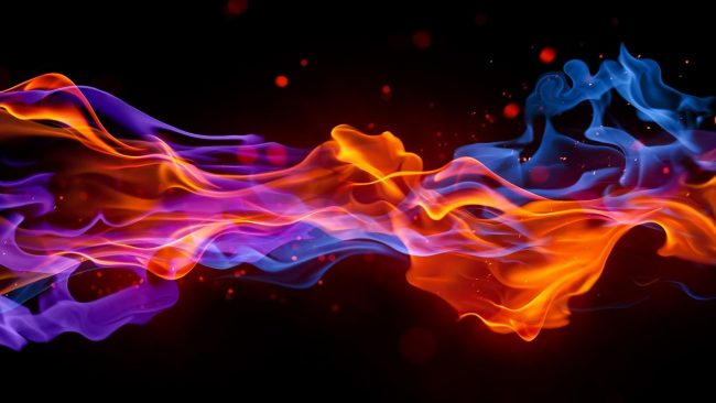 1920 × 1080 Flame Dark Abstract Wallpapers