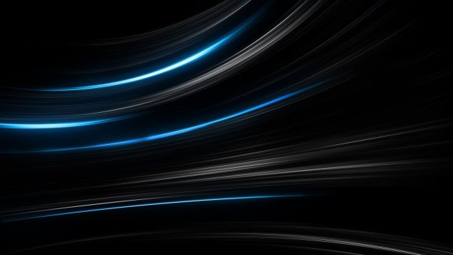 3840 × 2160 Black And Blue Background Abstract Wallpaper