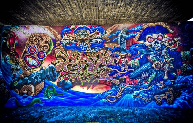 2663 × 1703 Pirates Wallpapers graffiti HD Wallpaper