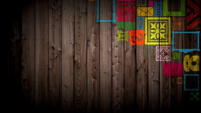 1920 × 1080 On Wood Graffiti Wallpaper