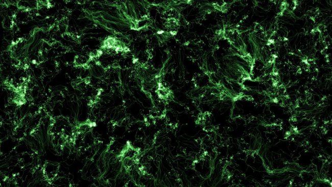 1920 × 1080 Dark Black And Green background