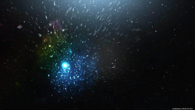 1920 × 1080 Stars Abstract / Dark HD Wallpaper