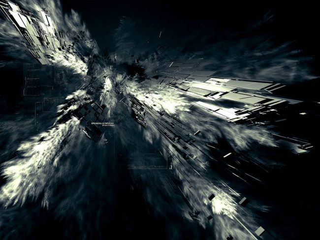 1024 × 768 Stunning Dark Abstract Preview wallpaper background