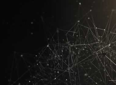 2560×1440-Connected Abstract Dark Background For Desktop Wide and HD wallpapers