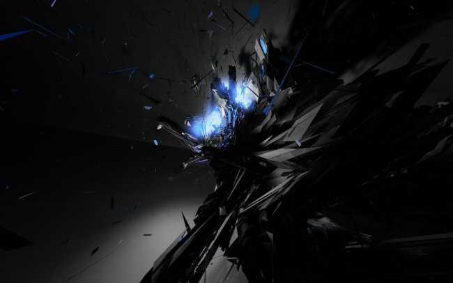 1680 × 1050 Super Dark Abstract