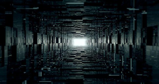 2200 × 1160 Deep Dark Abstract HD Wallpaper