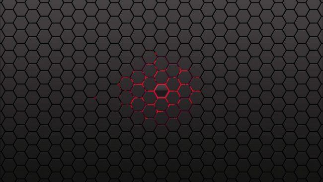 2560 × 1440 Cool Hexa Background Dark Abstract 24854165